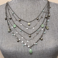 Caribbean Tiers Necklace