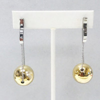 Floating Ball Earrings