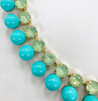 Turquoise Bubbles and Baubles Necklace