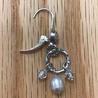 Pretty in Pearls Dangles