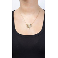 Mi Amour Gold Toggle Necklace