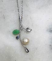 The Pearl Vine Necklace