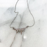 C.C. Skye Eyelash Necklace