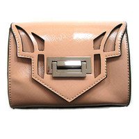 Sondra Roberts Blush Laser Cut Small Crossbody