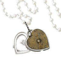 Mars and Valentine's Love Meter Locket