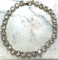Chunky Round Crystal Necklace