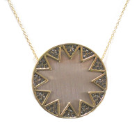 House of Harlow Medium Earth Metallic Sunburst 1