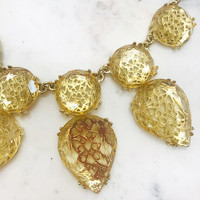 The Midas Touch Statement Necklace