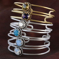 Blue Heaven Open Cuff Bracelet