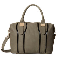 Big Buddha's Gray Tudor Satchel