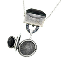 Love Letters and Lockets Necklace