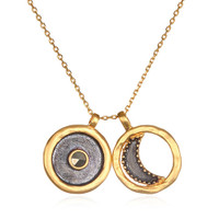 "Sun and Moon 30"" Necklace"