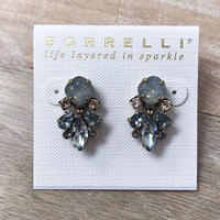 Sorrelli Coastal Mist Blue Post Earring