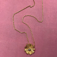 Dainty Dahlia Necklace