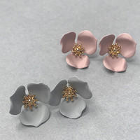 Lotus Blossom Earrings