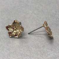 Petite Flower Post Earring