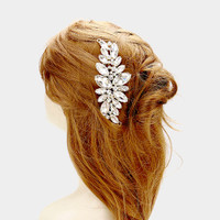 Smaller Wedding Day Crystal Vine Comb