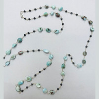 "40"" Long Chinese Turquoise Strand"