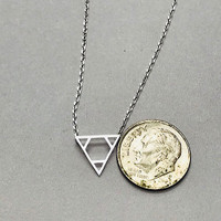 Triangles in Triangle Necklace