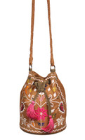 Ibiza Embroidered Bucket Bag