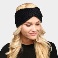 Twisted Soft Knit Headband