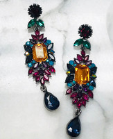 Kaleidoscope Mirage Crystal Earring