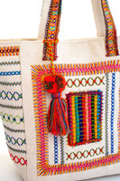 Pic-Stitch Needlework Canvas Shopper Tote
