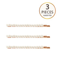 Set of Three Smaller Pearl Bobby Pins