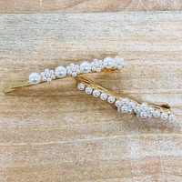 Pearl Bobby Pin Duo