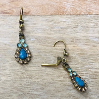 Sorrelli Driftwood Teardrop Earrings