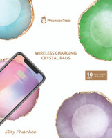 Wireless Charging Crystal Pads