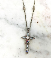 Sorrelli Glacier Cross Necklace