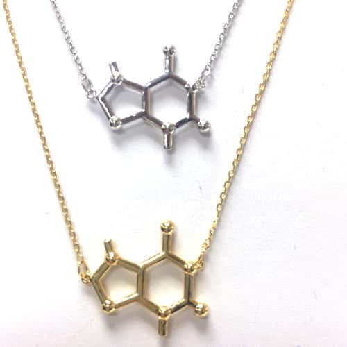Molecule of Chocolate Necklace
