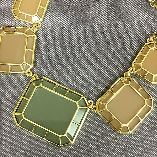 Rectangular Prisms Necklace