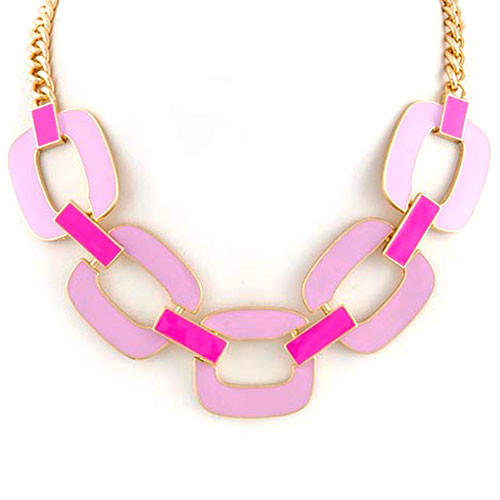 Radiant Orchid Gilded Collar