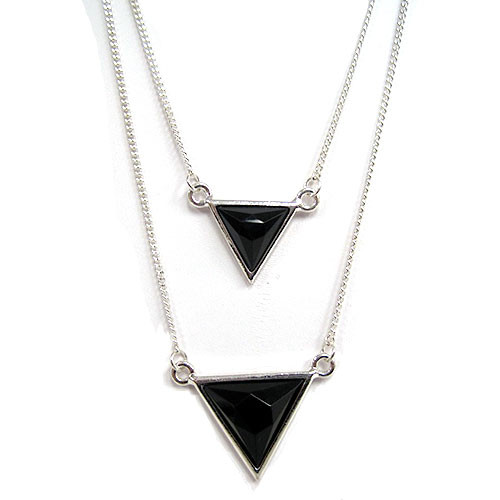 Layered Black Triangles