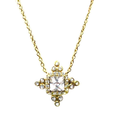 Freida Rothman's Gold Starlight Necklace