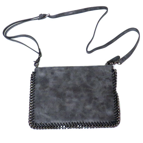 Chain Border Distressed Bag