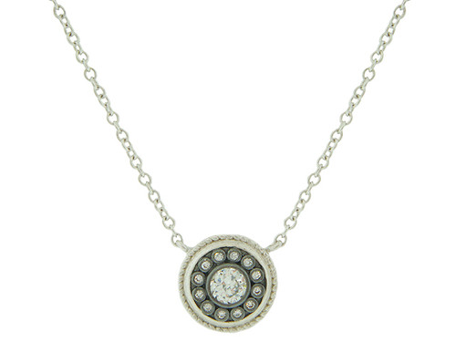 Shield Medallion Necklace