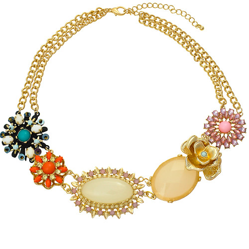 Mix Flower Necklace