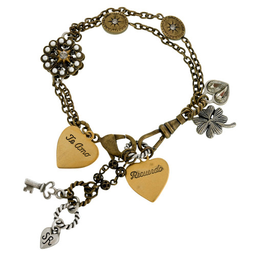 """I couldn't love you more"" Bracelet"