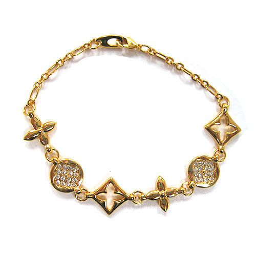 Kisses and Hugs Statement Bracelet