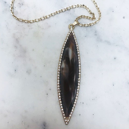 Marquis Pendant Brown