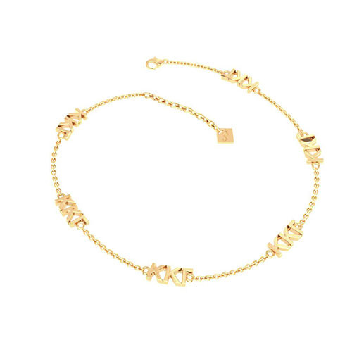 Kappa Kappa Gamma Gold Plated Multi Mini Bracelet