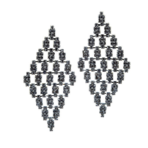 Diamonds in a Diamond Earring 1