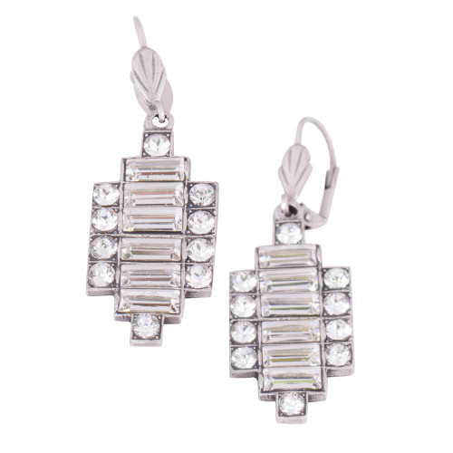 Six Baguettes Art Deco Earring
