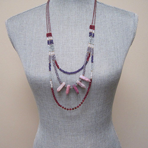Tribal Sunset Layered Chain