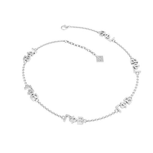 Gamma Phi Beta Silver Multi Mini Bracelet