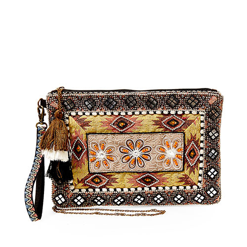 Steve Madden's Samara Embroidered Clutch