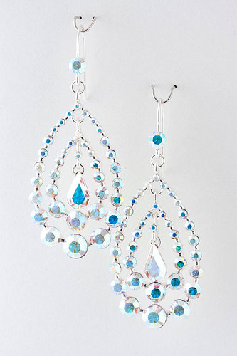 Devine Jeweled Teardrops AB